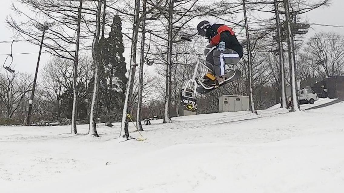 白鳥高原スノースクートパークライディング_キッカー